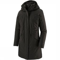 Patagonia Vosque 3-In-1 Parka Dames Zwart