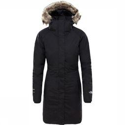 The North Face Arctic Parka II Dames Zwart