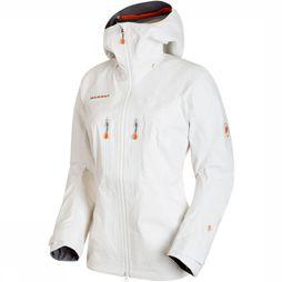 Mammut Nordwand Advanced HS Hooded Jas Dames Wit