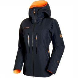 Mammut Nordwand Advanced HS Hooded Jas Dames Zwart