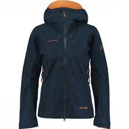 Mammut Nordwand Advanced HS Hooded Jas Dames Donkerblauw