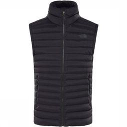 The North Face Stretch Down Bodywarmer Zwart/Donkergrijs