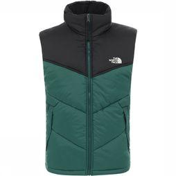 The North Face Saikuru Bodywarmer Donkergroen