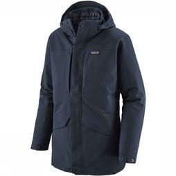 Patagonia Tres 3-In-1 Parka Donkerblauw