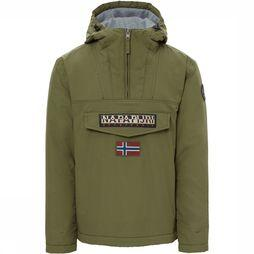 Napapijri Rainforest Winter Anorak Middengroen