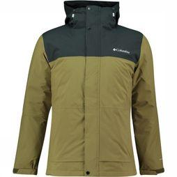 Columbia Horizon Explorer Insulated Jas Groen/Zwart