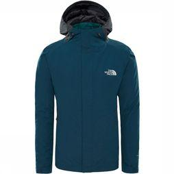 The North Face Merak Triclimate 3-in-1 Jas Donkergroen/Turkoois