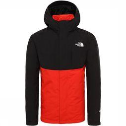 The North Face Mountain Light Triclimate Jas Zwart/Rood