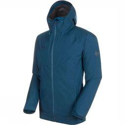 Mammut Convey 3 in 1 HS Hooded Jas Donkerblauw