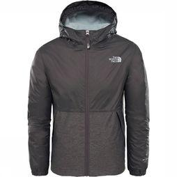 The North Face Warm Storm Jas Junior Donkergrijs