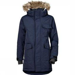Didriksons 1913 Matt Boy's Parka Junior Marineblauw