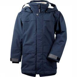 Didriksons 1913 Bjorling Parka Junior Marineblauw