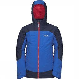 Jack Wolfskin Ropi 3-In-1 Jas Junior Middenblauw