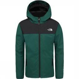 The North Face Elden Rain Triclimate Jas Junior Donkergroen