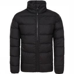 The North Face Andes Down Jas Junior Zwart/Donkergrijs