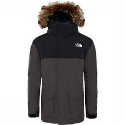 The North Face McMurdo Down Parka Junior Lichtgrijs Mengeling/Donkergrijs Mengeling