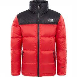 The North Face Nuptse Down Jas Junior Middenrood