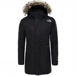 The North Face Arctic Swirl Donsjas Junior Zwart/Donkergrijs