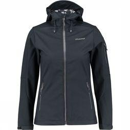 Ayacucho Gale Softshell Dames Zwart/Assortiment
