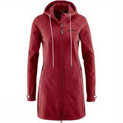 Maier Sports Mim Softshell Dames Donkerrood