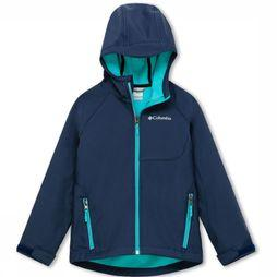 Columbia Cascade Ridge Softshell Jas Junior Donkerblauw/Marineblauw