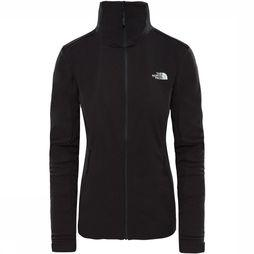 The North Face Inlux Softshell Dames Zwart