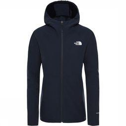The North Face Shelbe Raschel Hoodie Softshell Dames Marineblauw