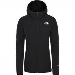 The North Face Shelbe Raschel Hoodie Softshell Dames Zwart