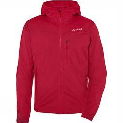 Vaude Durance Hooded Softshell Rood/Middenrood