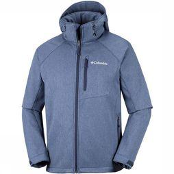 Columbia Softshell Cascade Ridge II Marineblauw