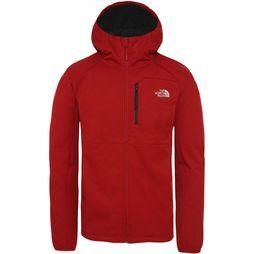 The North Face Quest Softshell  Jas Donkerrood/Rood