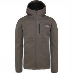 The North Face Quest Softshell  Jas Taupe/Donkergroen