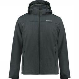 Ayacucho Dover Softshell Jas Donkergrijs Mengeling