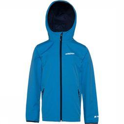 Protest Champ Softshell Jas Junior Middenblauw/Lichtblauw