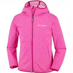 Columbia Heather Canyon Softshell Jas Junior Donkerroze
