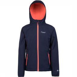 Protest Centro Softshell Jas Junior Donkerblauw