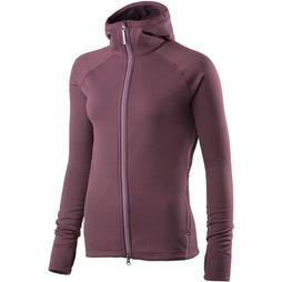 Houdini Power Houdi Fleece Vest Dames Bordeaux