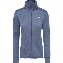 The North Face Quest Midlayer Jas Dames Middenblauw