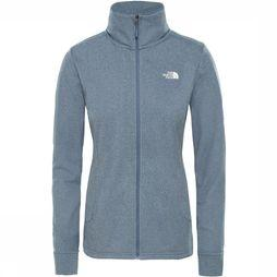 The North Face Quest Midlayer Jas Dames Donkergrijs Mengeling