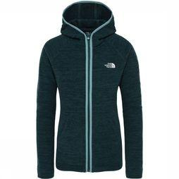 The North Face Nikster Hoodie Fleece Dames Donkergroen/Groen