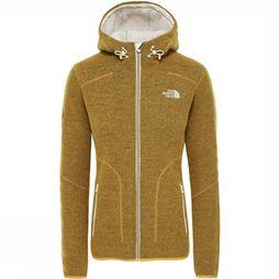 The North Face Zermatt  Hoodie Fleece Dames Lichtbruin