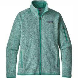 Patagonia Better Sweater Fleece Dames Lichtgroen