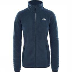 The North Face 100 Glacier Full Zip Vest Dames Donkerblauw