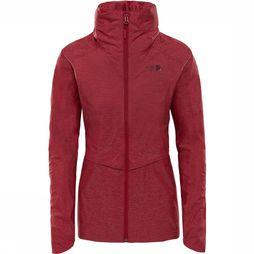 The North Face Inlux Dryvent Jas Dames Donkerrood