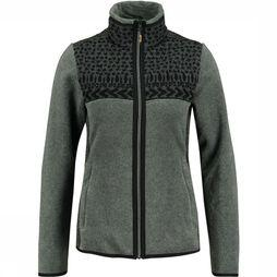 CMP Jacket Medium Fleece Vest Dames Donkergrijs/Zwart