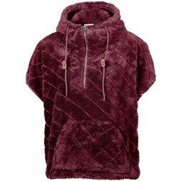 Columbia Fire Side Sherpa Shrug Trui Dames Bordeaux