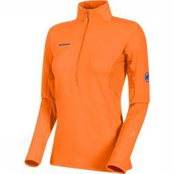 Mammut Moench Advanced Half Zip Shirt Dames Oranje
