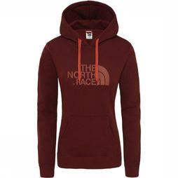 The North Face Drew Peak Pullover Hoodie Dames Middenrood