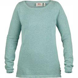 Fjällräven High Coast Knit Trui Dames Groen/Blauw