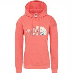 The North Face Light Drew Peak Hoodie Dames Zalmroze